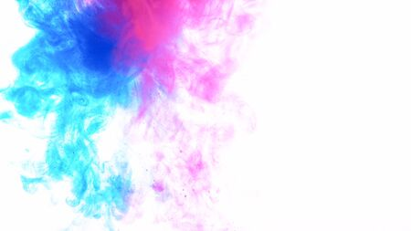 Abstract colored liquid background