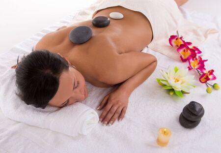 Young woman getting spa procedures. Zdjęcie Seryjne - 149853022