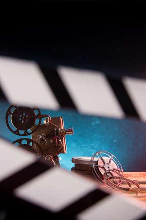 Old style movie projector, still-life Zdjęcie Seryjne