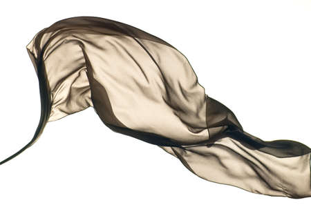 Smooth elegant colorful transparent cloth