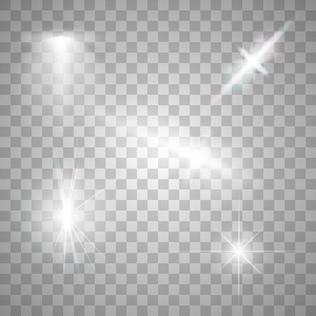 Imagen abstracta de iluminación de bengala. Set Foto de archivo - 45627814