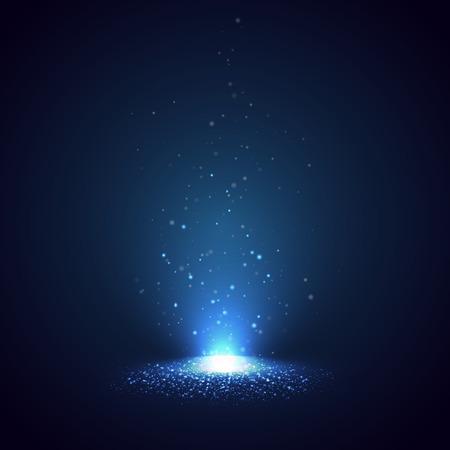 Fondo con los rayos de luz.