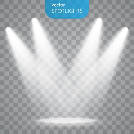 Extracto concreto vector aislada en el fondo transparente. Efectos de luz.
