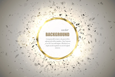 Vector ring background.