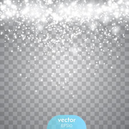 Estratto scintilla trasparente bagliore effetto luce. Archivio Fotografico - 52679086