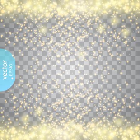 Abstract transparant schitteren gloed licht effect.