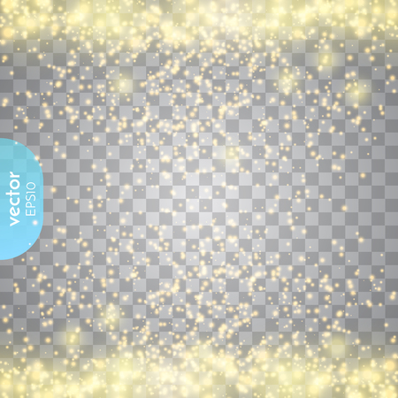 Effetto luce astratto bagliore trasparente. Vettoriali