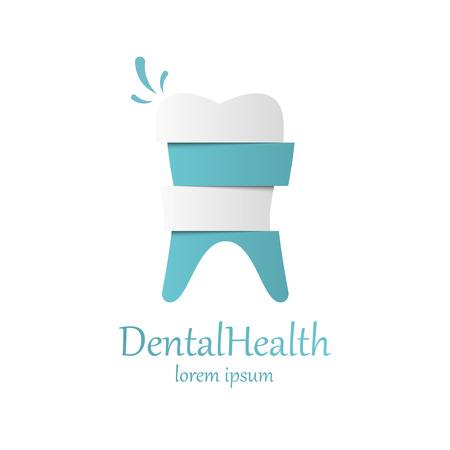 Icono de la plantilla de vectores diente. Salud, médico o médico y oficina del dentista símbolos. cuidado bucal, dental, oficina del dentista, salud dental, cuidado dental, clínica. Icono de diente.