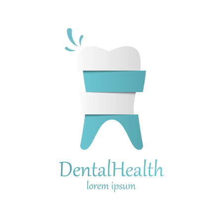 dental health: Tooth Icon vector template. Health, medical or doctor and dentist office symbols. Oral care, dental, dentist office, tooth health, tooth care, clinic. Tooth icon.