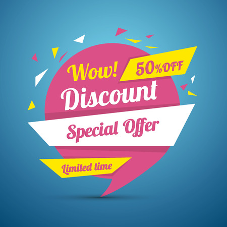 advertisements: Discount sticker. Special offer vector isolated. Promotion sticker. Sale limited offer sticker. Advertisement tag. Sale poster. Vector illustration. Sale background