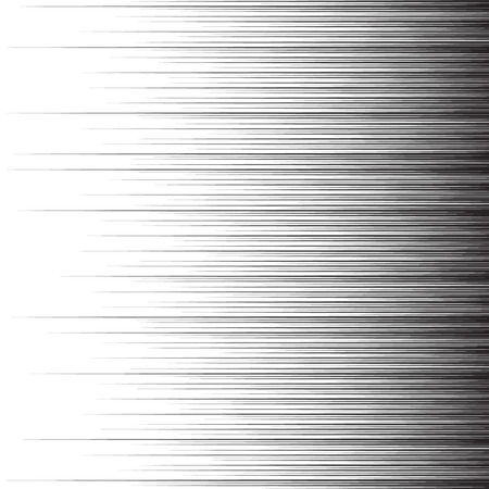 Comics motion effect. Vector speed lines illustration.