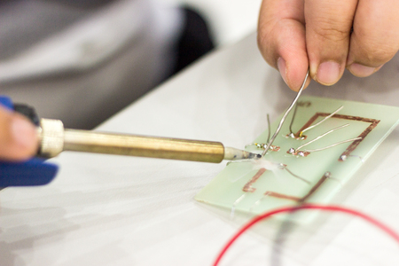 Electronic circuit in stem learning