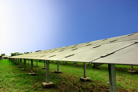 Concept Solar Farm, an alternative energy cell for the future. Reklamní fotografie