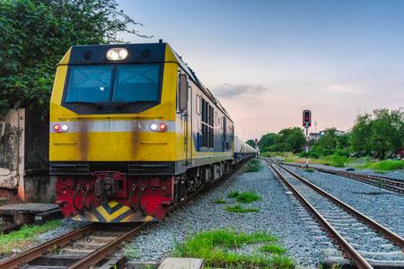 Trains are important transportation businesses. Reklamní fotografie