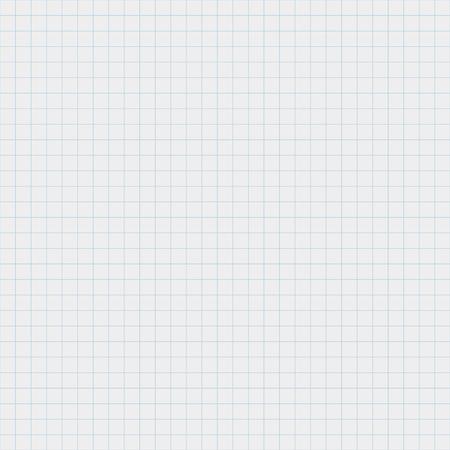 Libro de ejercicios de papel de patrón transparente de vector en una celda Patrón de hoja de cuaderno de textura en una jaula Fondo a cuadros transparente para plantillas de documentos patrón geométrico para el diseño de cuadernos escolares
