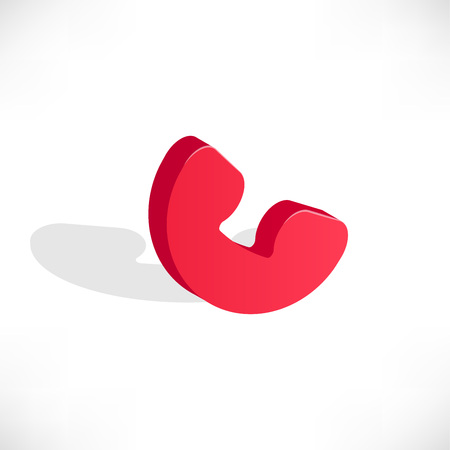 Isometric phone icon 向量圖像