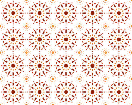 Traditional Islamic Design. Mosque decoration element, Morocco Seamless Border, Islamic traditional ornament Vectores