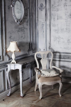 prachtige stijl meubels in een luxueus interieur borokko