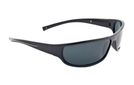 dark sunglasses isolated on white background  photo