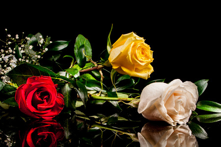 st valentine's day: bouquet of roses to St. Valentines Day