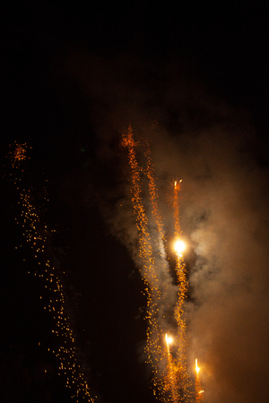 verb: New Years Eve Fireworks
