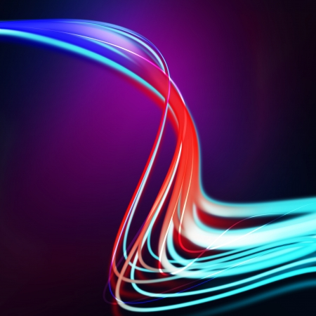 mix color shape lines on dark background Stock Photo - 20143932