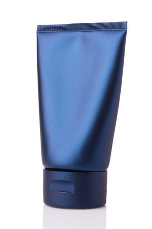 lotion tube isolated on white