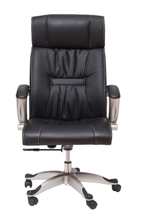 executive chair: boss chair isolated on white