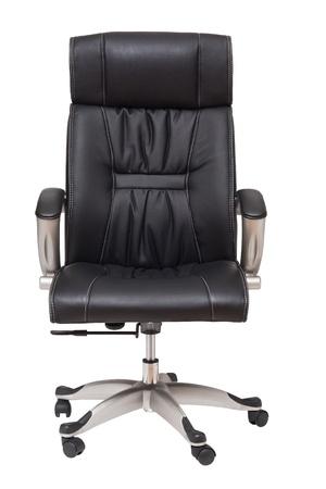 Chef Stuhl isoliert auf weiß Standard-Bild