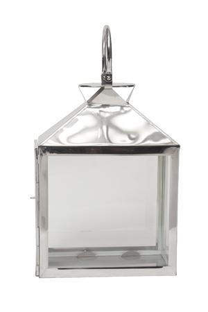 lampekap: roestvrij lampenkap geïsoleerd op wit