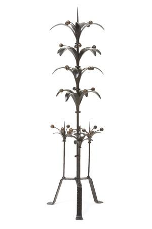 candle holder isolated on white  Stock Photo - 21652391