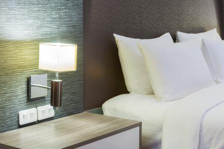 luxury modern hotel room, Bangkok, Thailand. photo