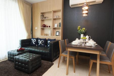 apartment living: luxury small room interior design.