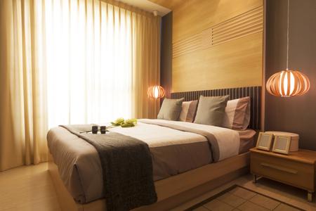 modern bedroom: luxury modern japanese style bedroom.