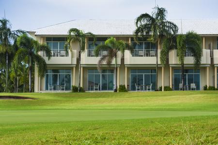 resort in golf course at Sriracha, Chonburi, Thailand. Stock Photo