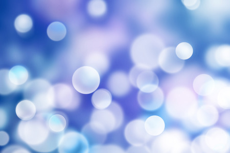 chillout: abstract light and bokeh in blue purple.