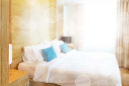luxury bedroom: abstract luxury contemporary bedroom in villa.