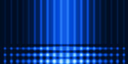Blur gradient blue grid absrtact background, techno glow grid , futuristic template background. Banco de Imagens