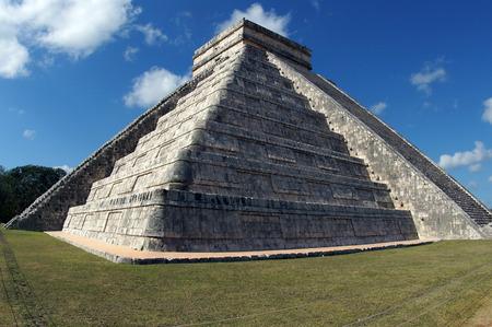 Impressive mayan pyramid Chichen Itza in Mexico
