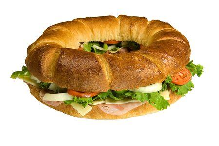 Round Sub Sandwich photo