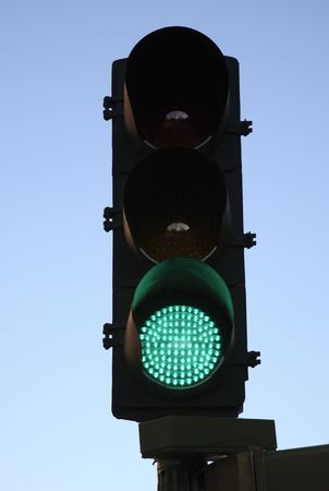 Green Traffic Light photo