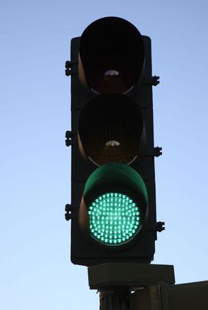 Green Traffic Light Stock Photo - 7218295