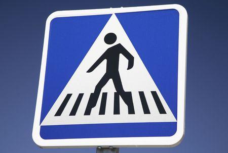 Pedestrian Crossing Sign Stock Photo - 7218316