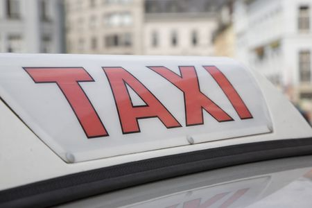 Taxi Sign Stock Photo - 7276864