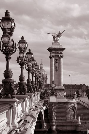 Pont Alexandre III Bridge, Paris, France, Europe