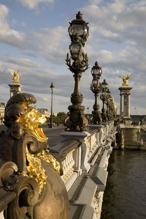 iii: Pont Alexandre III Bridge, Paris, France