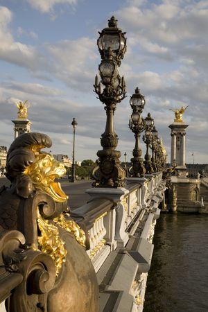 Pont Alexandre III Bridge, Paris, France Stock Photo - 7292677