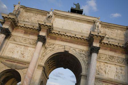 carrousel: Arc de Triomphe du Carrousel, Paris, France, Europe