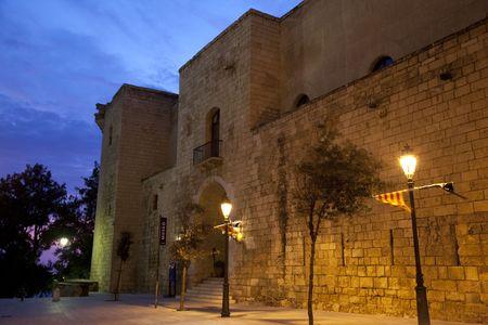 Entrance to the Almudaina Palace; Palma; Mallorca; Spain