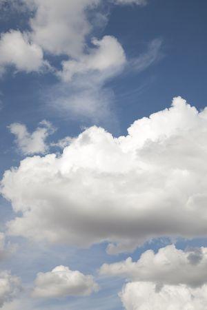 Dramatic cloud background Stock Photo